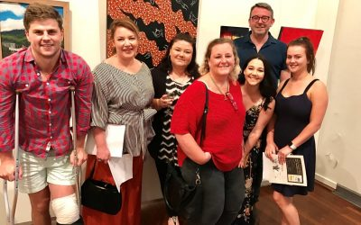 M + E at the Muswellbrook Local Art Awards