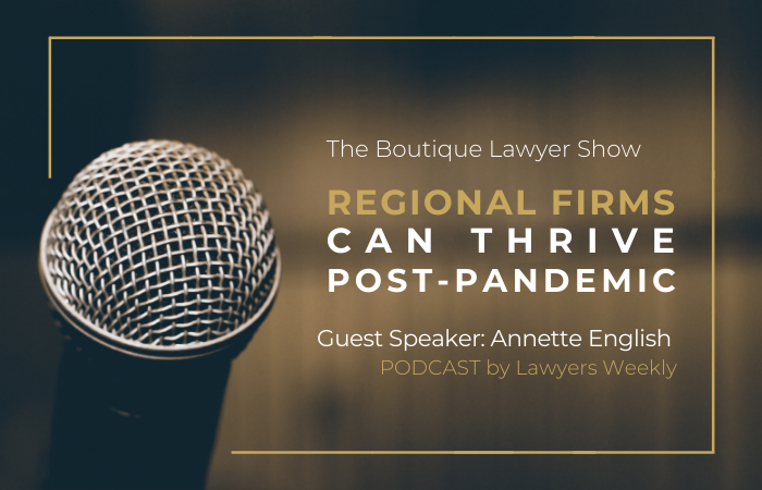Annette English Featured on The Boutique Lawyer Podcast